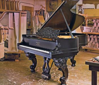 Реставрация рояля