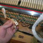 Ремонт механики пианино